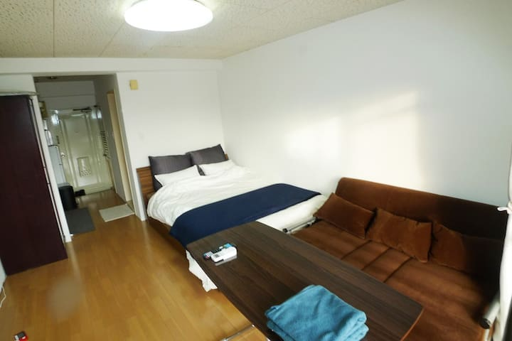 500mBehind Central station.7F Free parking.carrent - Kagoshima-shi - Wohnung