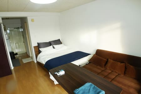 500mBehind Central station.7F Free parking.carrent - Kagoshima-shi - Apartemen
