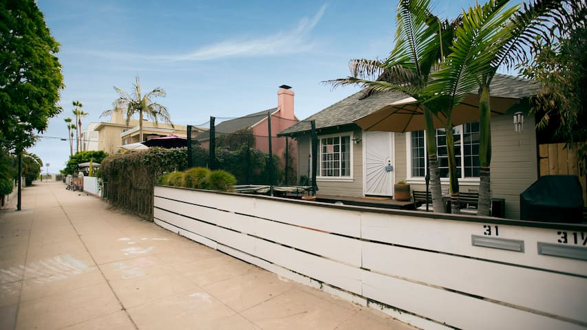 BEACH HOUSE STEPS FROM THE SAND Houses For Rent In Los Angeles California