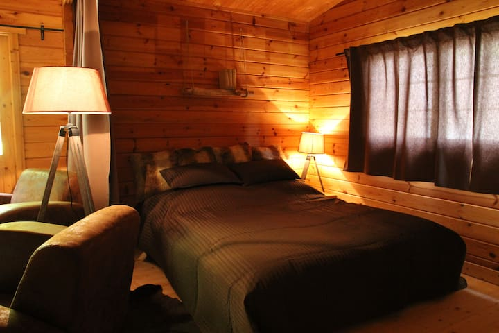 Einfache, aber elegante Hütte