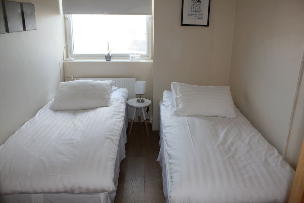 Plenty of space. Ideal for a group. Sleeps 14 people.