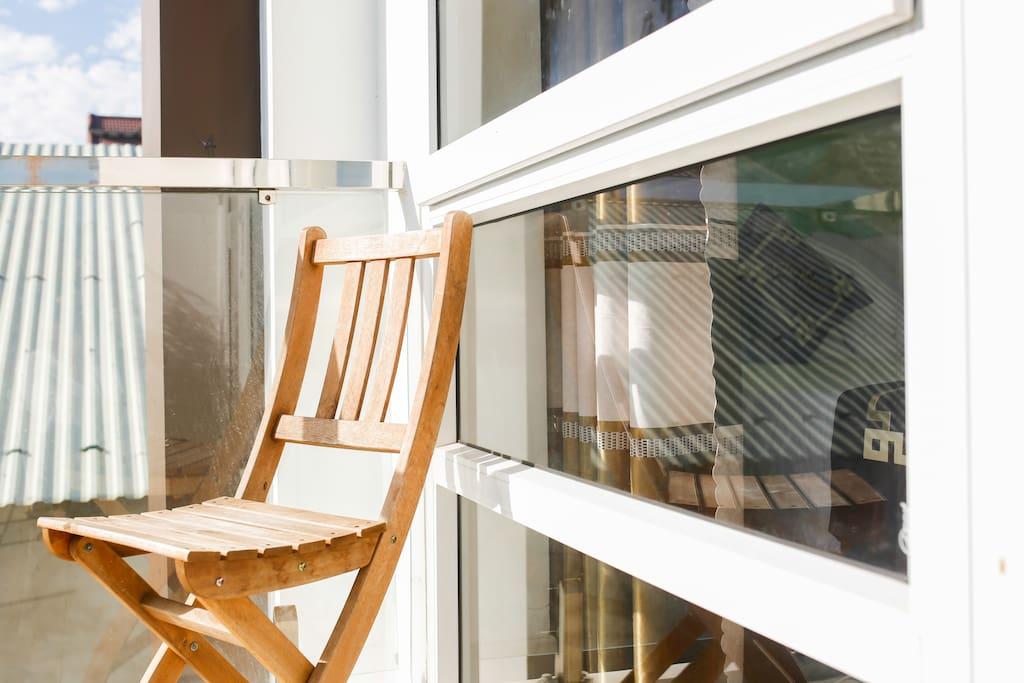seat in balcony