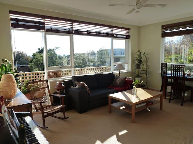 Quiet, sunny room for solo female - Kew - Apartemen