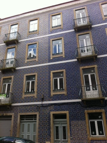 Building with typical AZULEJOS 2