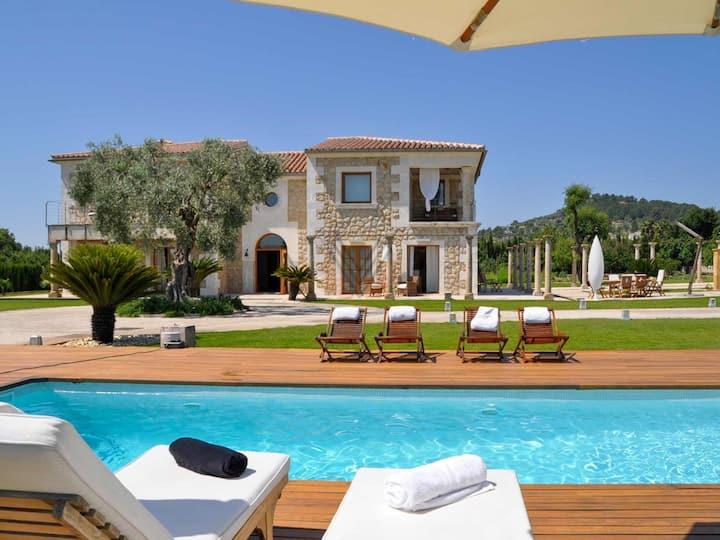 Ses Rentadores, Luxury House in Selva, Mallorca