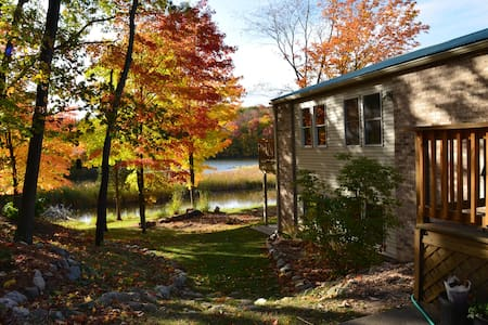 Gorgeous River Retreat - Lansing - Hus