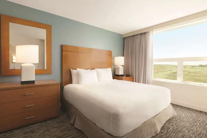 Amazing Suite Double Bed Non Smoking At Denver International Airport