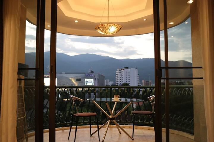 Studio near Nimman with mountain view @Hillside 4