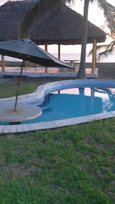 View of Pool and Hammock Ranch