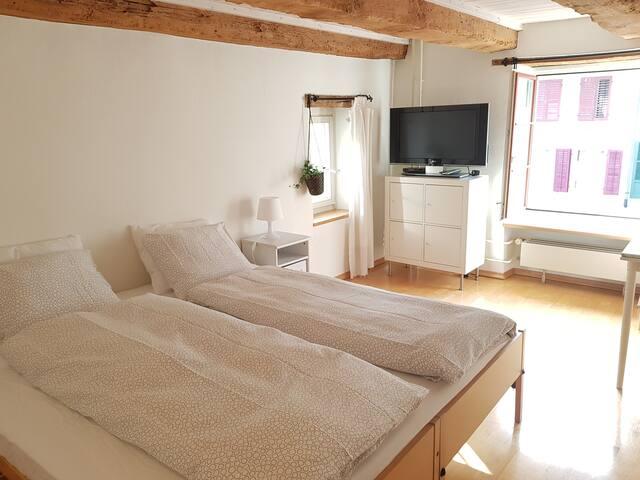 wunderschönes Zimmer mit Bad nur 10 min von Basel