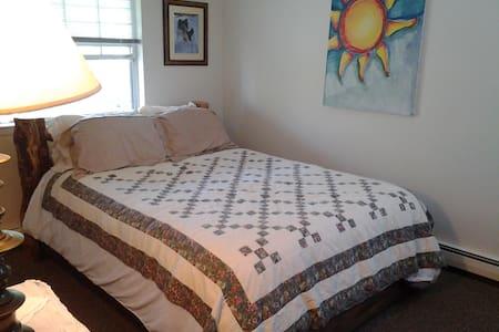 Bedroom in quiet neighborhood