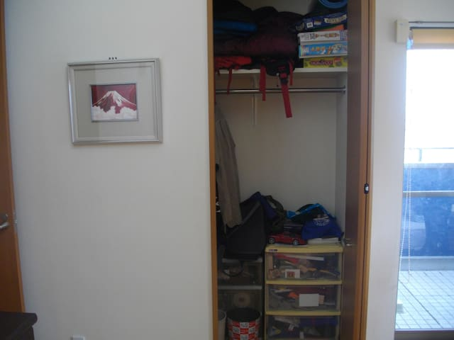 Spacious Room Closet