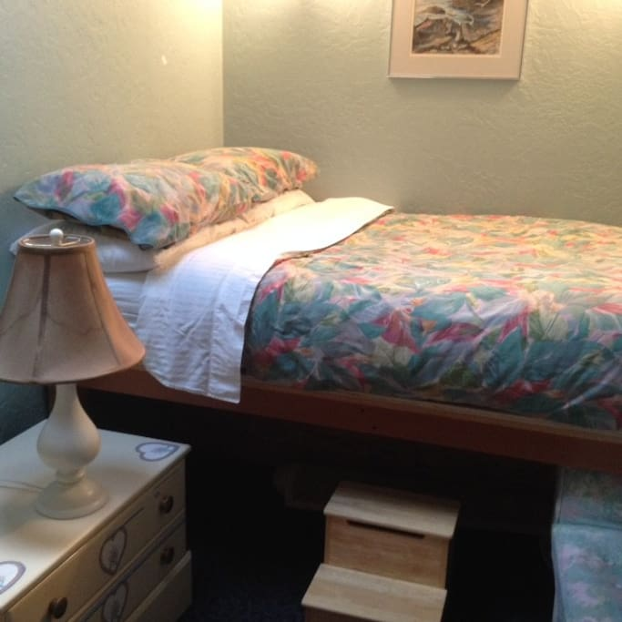 Adjoining Bunk Room.  This combo is perfect for parties of three.