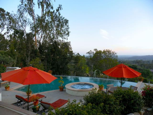 Guest casita enjoying a resort-like setting - Rancho Santa Fe - Vila