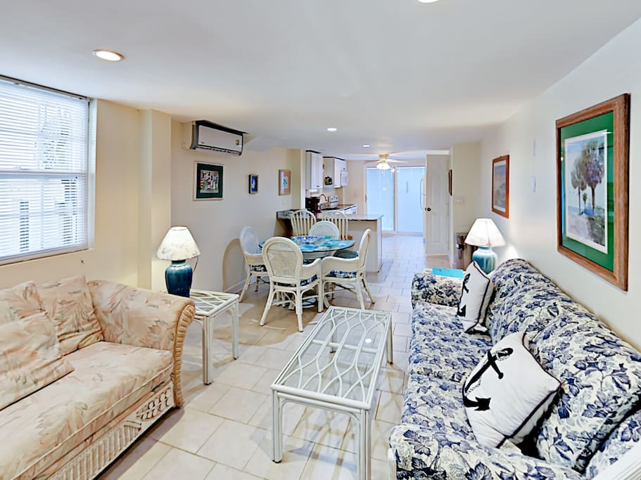 With 2 living spaces across 2 floors, this home offers plenty of room to spend time with your crew.