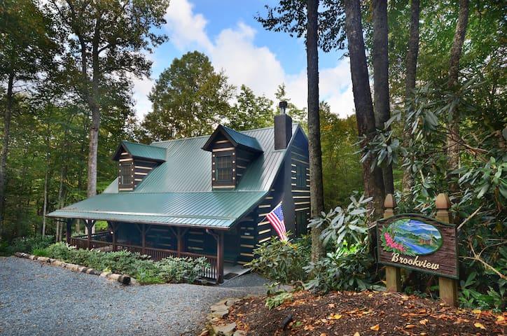 BrookView - Luxurious Log Cabin  - Blowing Rock - Cabaña