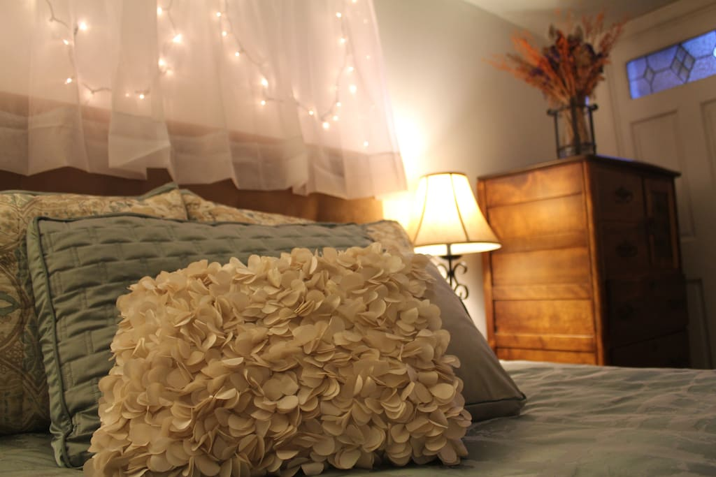 Comfortable bed and the softest sheets just for you!