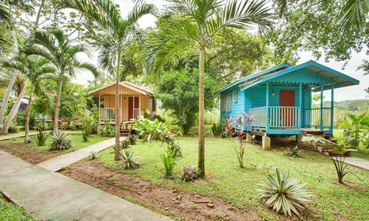 Near Macal river, walk dis. to town, 'cabana'- MB