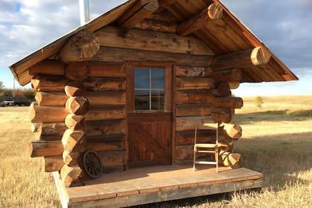 Cozy rustic cabin. - Whitlash - Srub