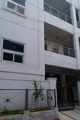 Double bedroom at groundfloor karmanghat Hyderabad