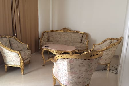 Family apartment with Garden - New Cairo City