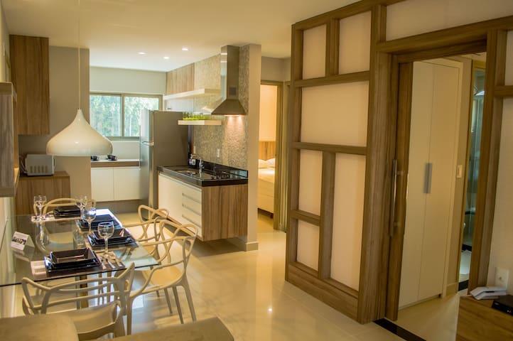 Premium flat Ponta Negra Brisa 801