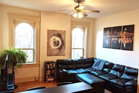 Fun Apartment in the heart of OTR/Downtown