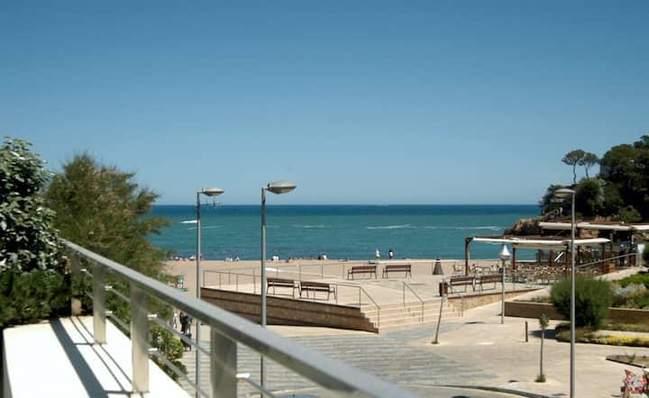Casa moderna 1ª línea Playa Sa Riera, 7 pax, Begur