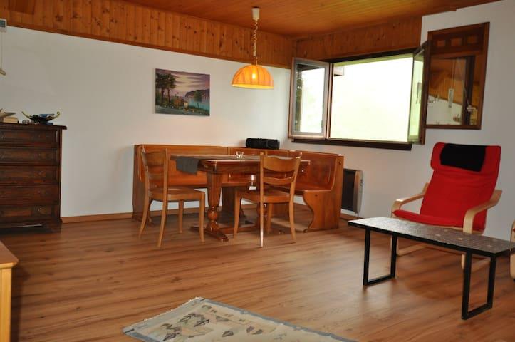 moderne Wohnung in kleinem Bergdorf - Calanca - Apartemen