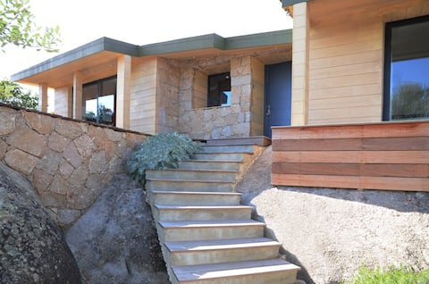 美しい家2人。最高の快適さ600 mビーチ