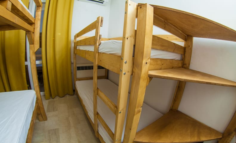 Tiny-Hostel like Room [SINGLE BEDS]
