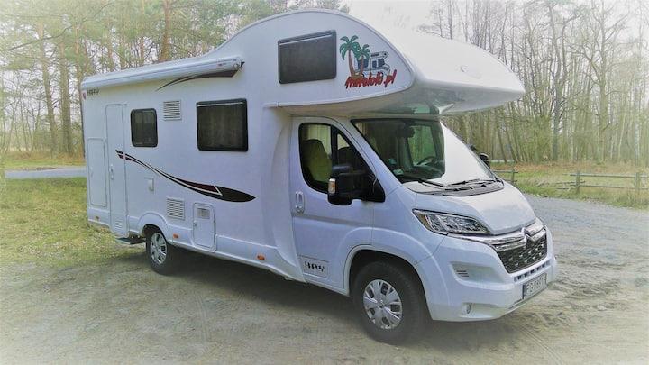 Kamper Camper Citroen Happy 2018 Świnoujście