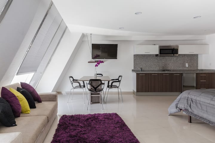 Espectacular loft PH zona Polanco B