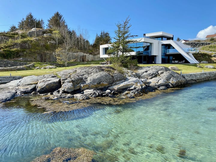 Unique property by the Norwegian Fjords with SPA