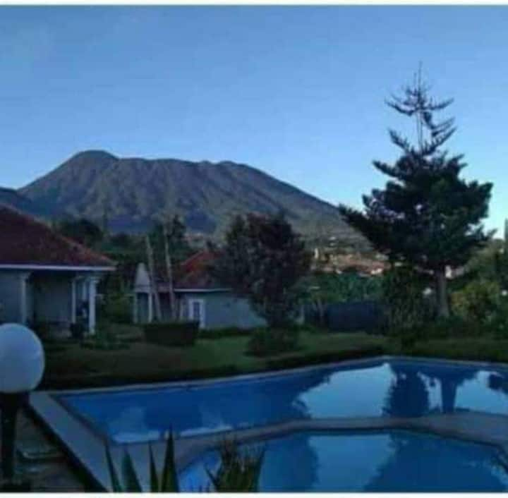 Villa bumi indah mountain view puncak