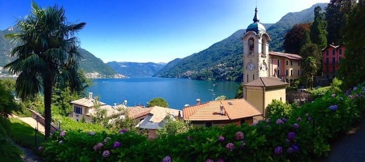 Riva di Faggeto, on Lake Como shore