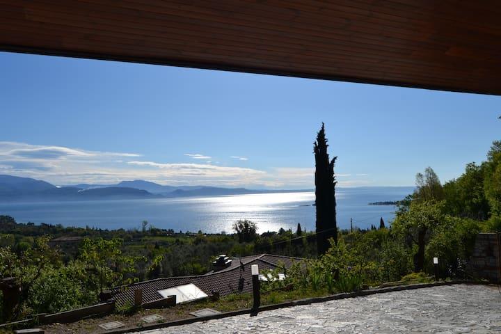 Villa Luisa appartamento vista lago - San Felice del Benaco - Pis