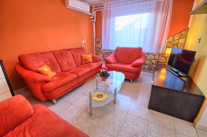 2BD house in Šikići just outside Pula for 4 person - Pula - Huis