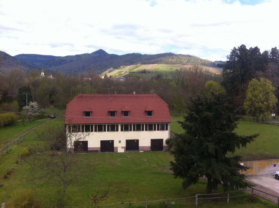 La résidence avec vue sur la montagne