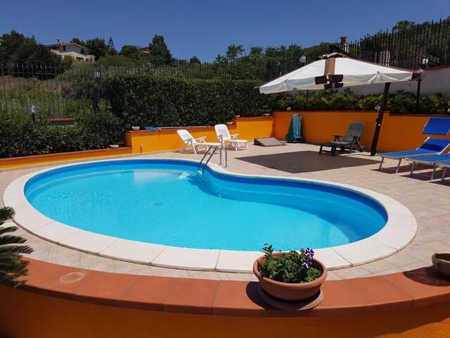 Villa con piscina privata - Trappeto - Villa