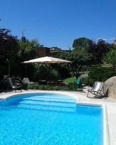 Great 12 guests Villa Madrid-La Pedriza. - Manzanares el Real - Almhütte