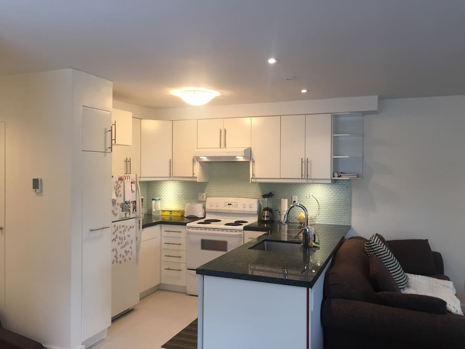 Renovated kitchen full of everything you will need!