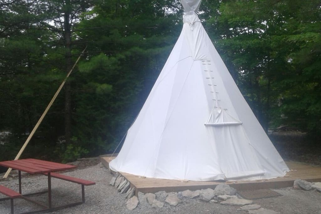 16 foot Glamour Tipi Camping