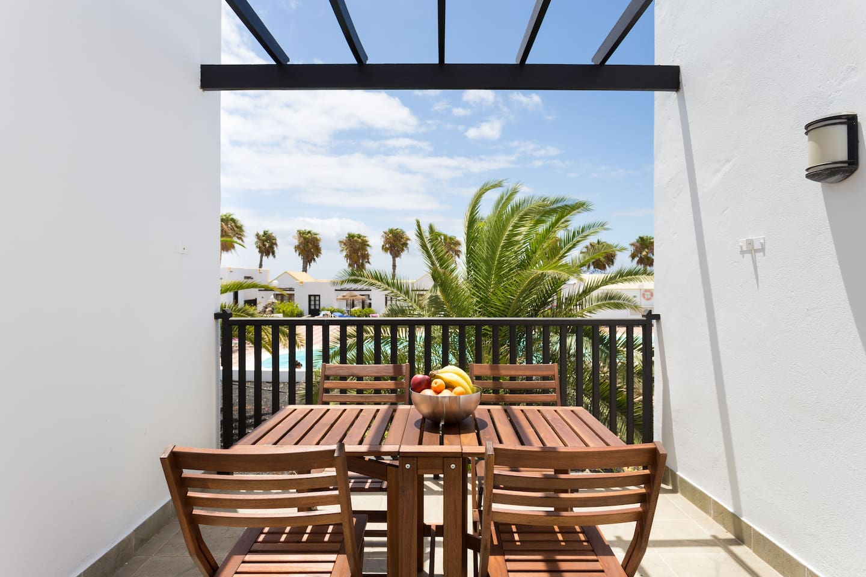 Terrace (pool view)