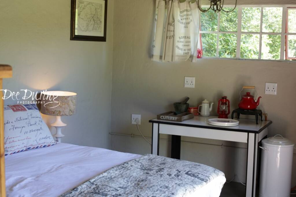 Interior of Boathouse bedroom
