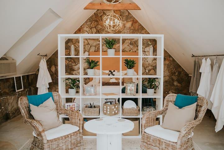 Elegant Stone Greenhouse on 40-Acre Farm