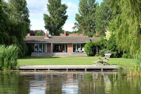 Meare cottage with boat and spectacular lake views - Thorpeness - Talo