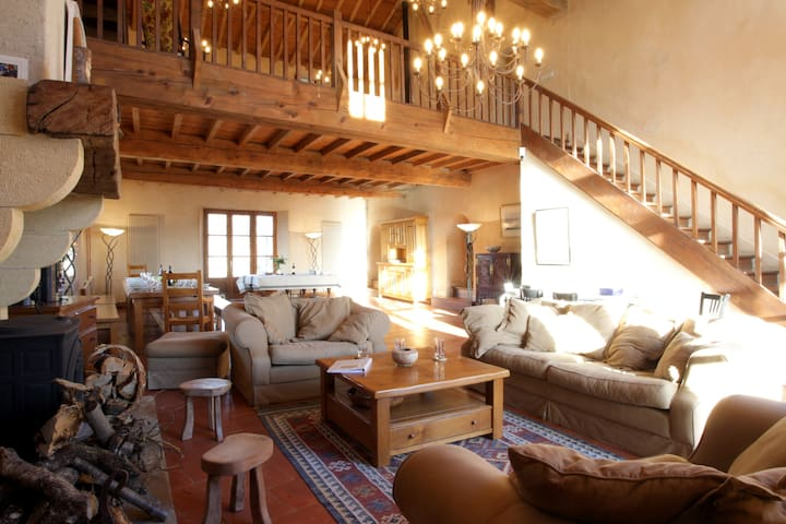 20 Bedroom estate near Mirepoix - Saint felix de tournegat - Casa