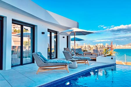 Luxury Apartment with own pool by Poniente beach