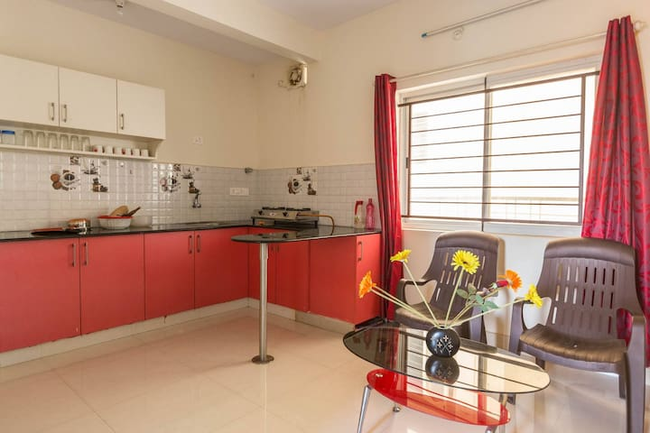 Entire 1 Bed Hall Kitchen